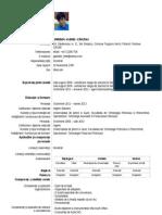 CV Spiridon Andrei - Cristian 97 2003 Doc