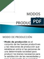 Presentacion Modos de Produccion