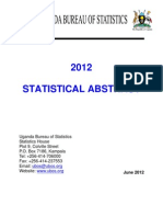 2012 Statistical Abstract
