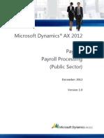 AX 2012 Payroll Processing