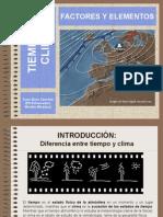 Elementos y factores climáticos
