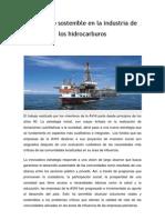 Desarrollo Sostenible en La Industria de Los Hidrocarburos
