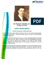 About Shaklee