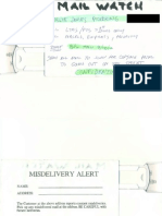Mail Cover Documents