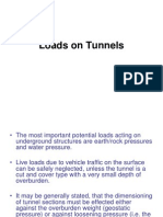 Loads on Tunnels