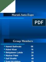 Maruti Auto Expo Ppt