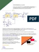 Detector de Proximidad Por Infrarrojo Con Dos 555 Completo