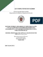 Melchor Gomez Garcia - Enseñanza Colaborativa Con Soporte Informatico