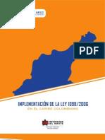 Implementacion de La Ley 1098 de 2006 en El Caribe Colombiano