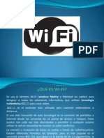 Exposición WIFI
