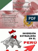 INVERSION EXTRANJERA EN EL PERÚ