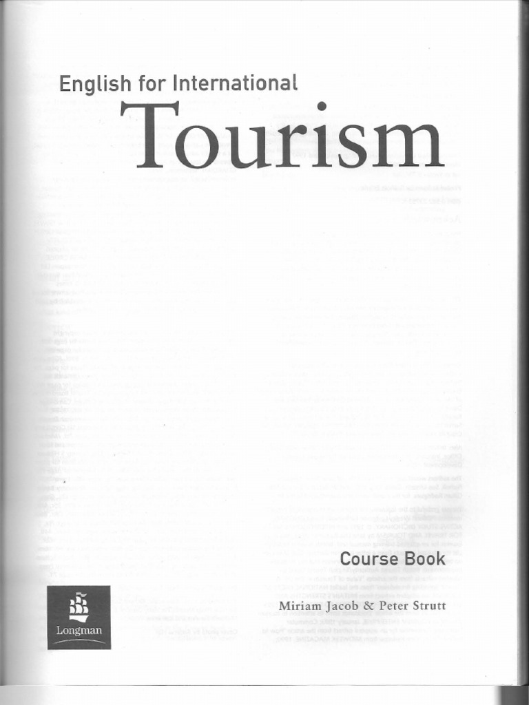 English For International Tourism Teachers Resource Book