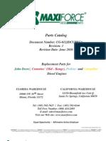 Maxiforce 2009 Catalog