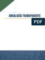 ANDALUCÍA TRANSPARENTE. Recomendaciones factibles al Anteproyecto de Ley de Transparencia Pública de Andalucía