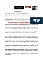 FACTSHEET HBO-OPLEIDING: