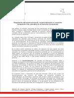 Regulación del porte personal, comercialización y consumo terapéutico de cannabis en el Derecho Comparado.