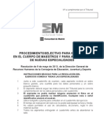 Resumen Comun Madrid 2013