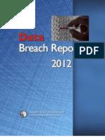 California Attorney General's 2012 Data Breach Report.