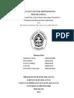 Resume Jurnal Biotek