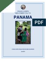 Peace Corps Panama Welcome Book  June 2013