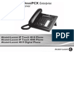 ENT PHONES IPTouch-4008-4018-4019Digital-OXEnterprise Manual 0907 US