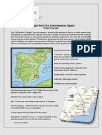 Cehegin Fact Sheet 2013