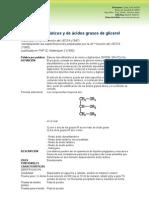 Diacetiltartarico Ester de Glicerina