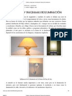 Gráficos y diagramas de iluminación. Manual de luminotecnia