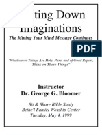 Casting Down Imaginations