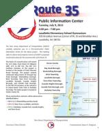 Route 35 Public Meeting Documents