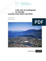 Reducing Earthquake Risk