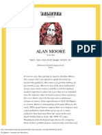 The Believer - Interview With Alan Moore