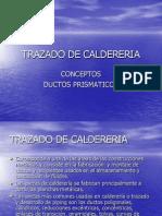 Trazado de Caldereria