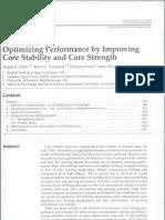 Optimizing Performance by Improving