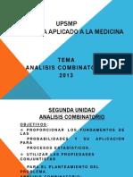 Analisi combinatorio 2013