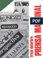 Trejo Delarbre, Raul - (1991) La Prensa Marginal