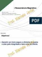 Seguranca Em Ressonancia Magnetica - Prof. Marcelo Javier