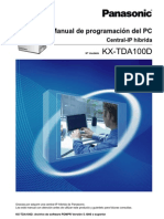 Manual de Programacion PC KX-TDA100D