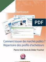 Comment trouver des marchés publics ? Répertoire de profils d'acheteurs (extraits)