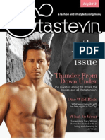 Tastevin Magazine July 2013