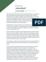 Crítica al concepto de interculturalidad desde la cultura andina