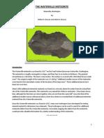 The Waterville Meteorite