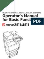 3511 4511 Operator Manual