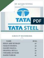 Tata cost accounting
