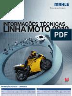 Mahle Tabela de Parede Linha Moto 2012-2