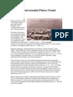 Istoricul Orasului Piatra Neamt
