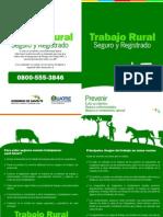 Folleto Trabajo Rural