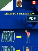 Arresto y Detencion Curso Pnp