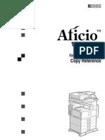 Aficio1035 Copy Reference