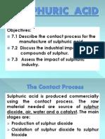 11.4. Sulphuric Acid